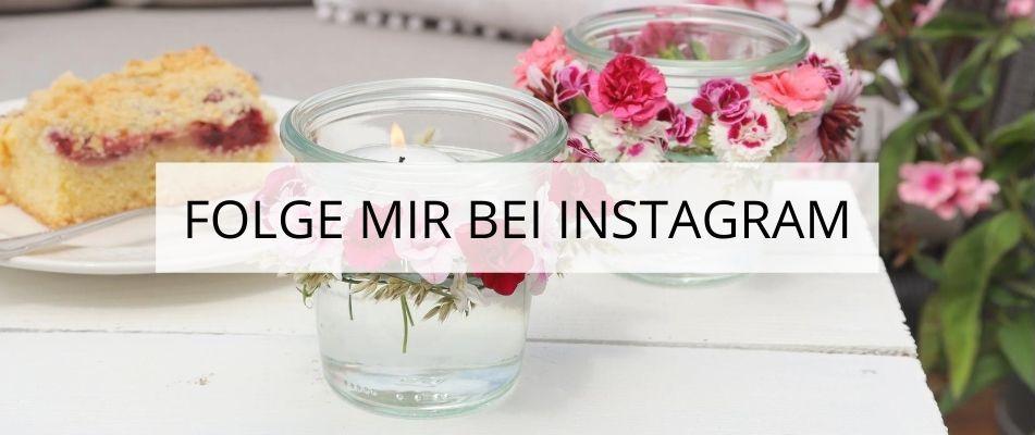DIY Blog Folge mir bei Instagram