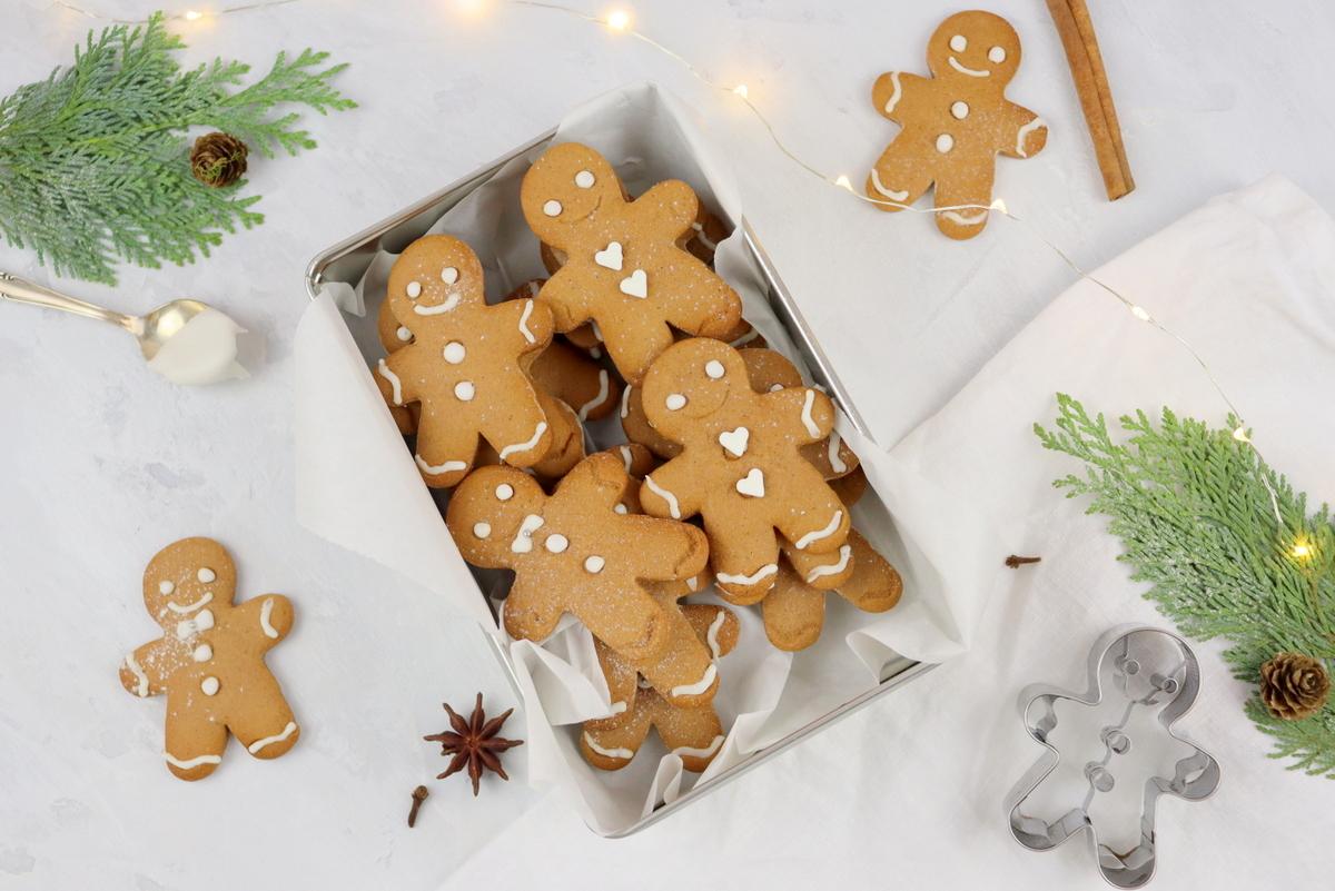 leckeres Weihnachtplätzchen Lebkuchenmänner Rezept