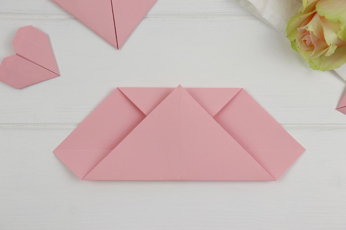 DIY - Origami Herz aus Papier einfach selber machen / falten