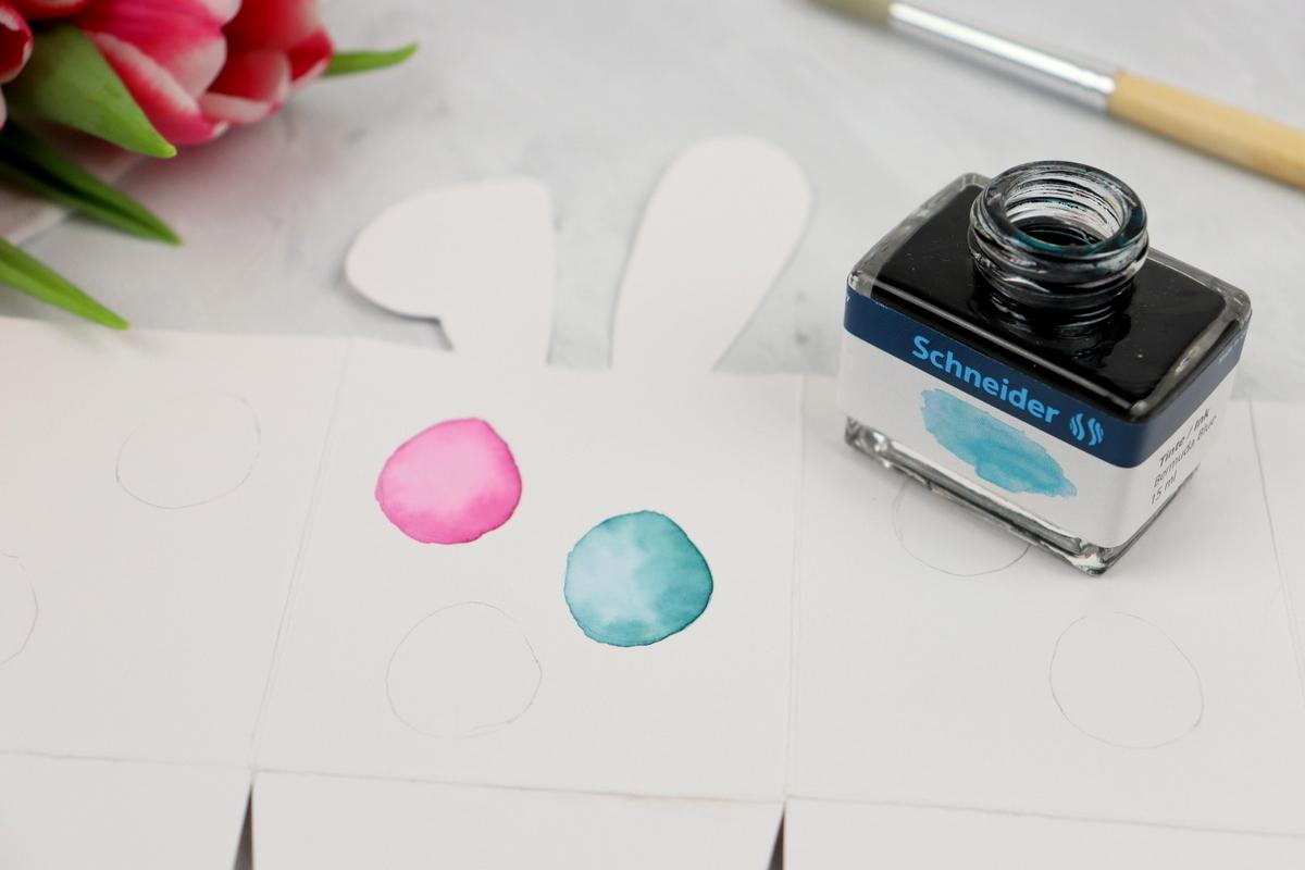 selbstgemachte Geschenkverpackung zu Ostern + kostenloses Schnittmuster